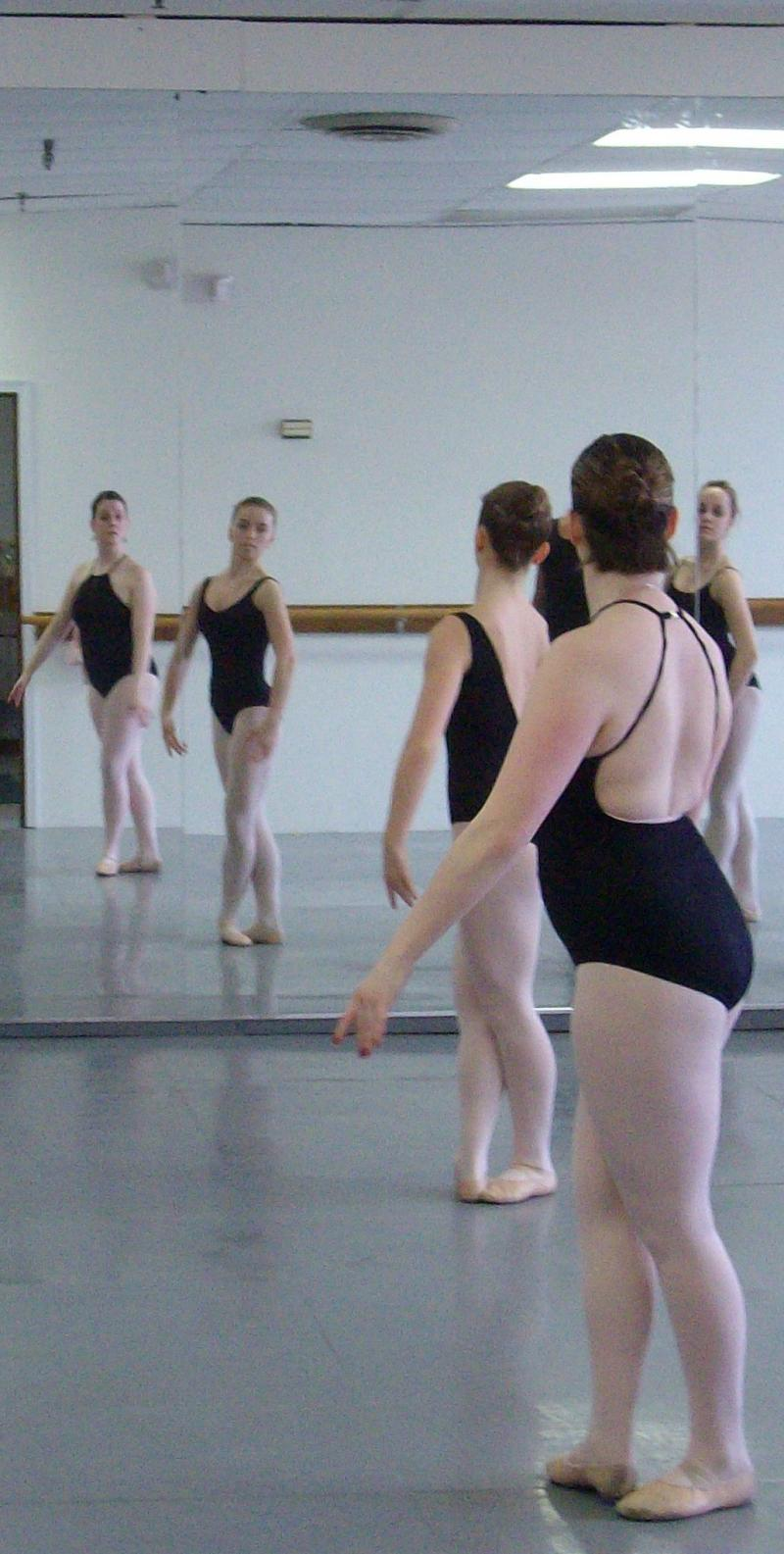 Dancers in the Studio Learning from Dmitriy
